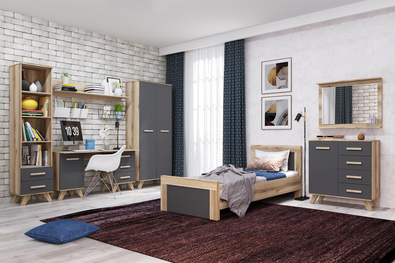 Спальня «Вега Скандинавия» (комплект 4) Кураж