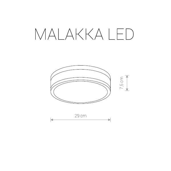 Потолочные светильники 9501 Malakka led Nowodvorski