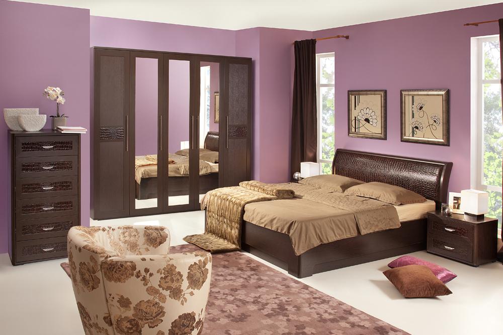 Спальня «ПАРМА» (комплект 1) Кураж