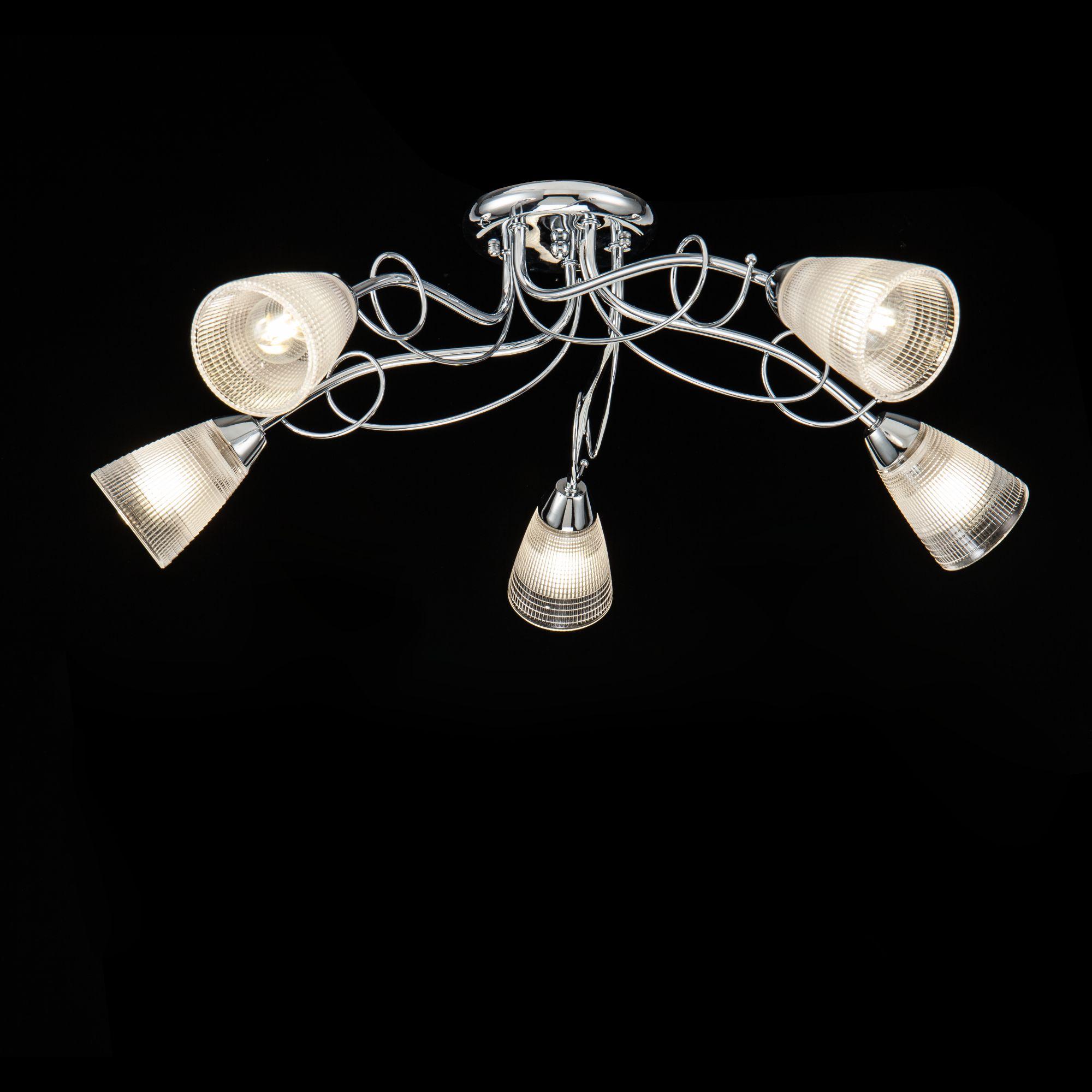Потолочные светильники FR5684CL-05CH Freya