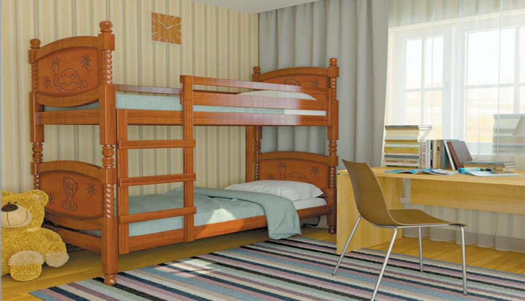 Кровать «Валерия двухъярусная» Bravo