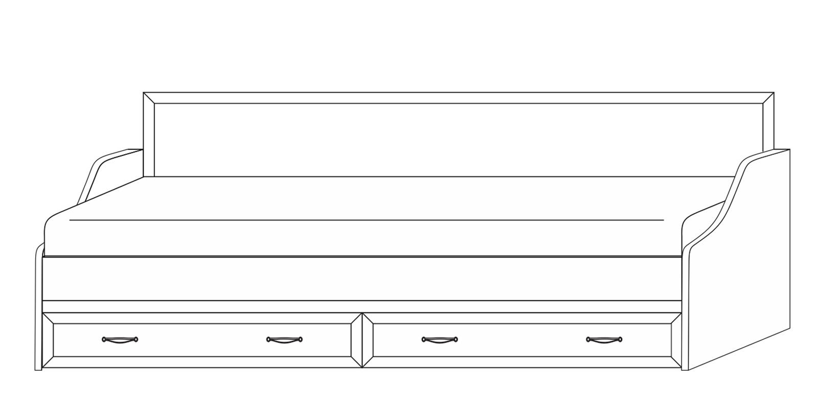 Диван-кровать 900 «Сиена» Кураж