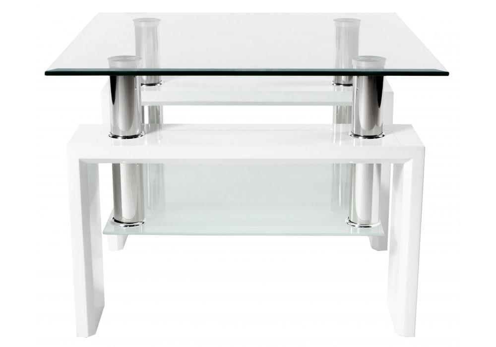 Журнальный стол ST-052 белый Woodville