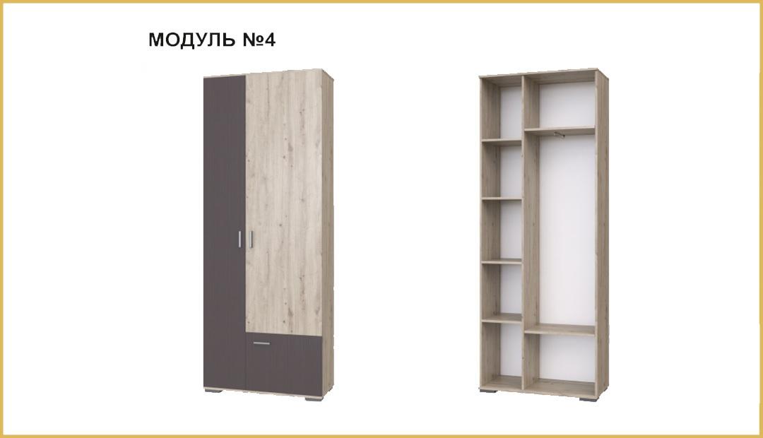 Модуль №04 шкаф «Имидж» Bravo