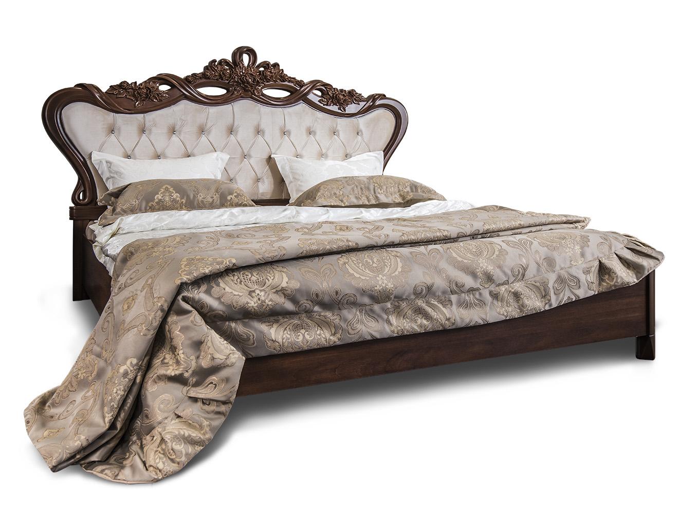 Кровать «Афина» с мягким изголовьем ЭРА