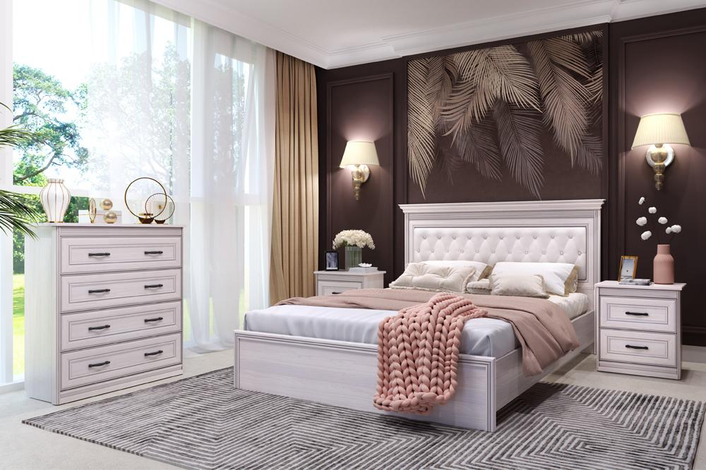 Спальня «Неаполь» (комплект 3) Кураж